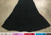 "6667 Black - 36"" Crinkle Rayon 5 tier skirt, one size and lined. Also available in Ivory, Purple, Red, Turq & Brown. One of our best selling skirts!!"