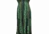 7975 - Sage Full Sequins Sequins Neck Line Sundress, adjustable straps and elastic all around under chest, Sized S-XL