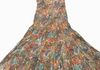 2321 - Multi Pastel  Sequins Neck Line Sundress, adjustable straps and elastic all around under chest, Sized S-XL