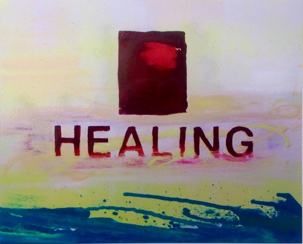 """Healing"" by Caren Elise Camblin 2012"