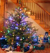 Christmas Tree, Christmas ornaments, decorations
