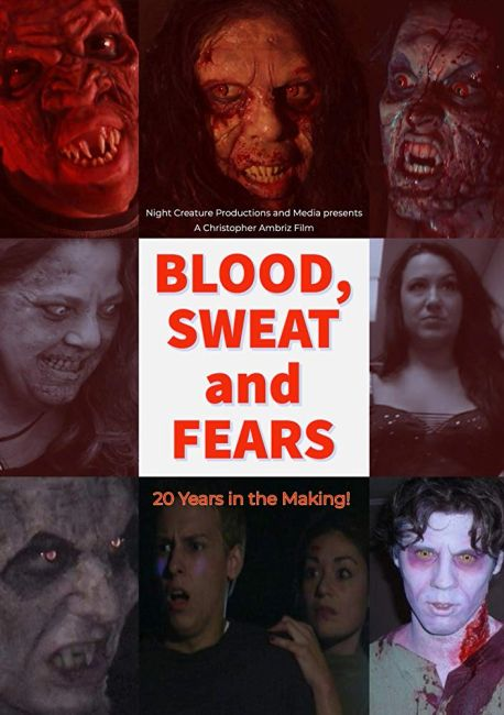 Poster for Blood, Sweat and Fears