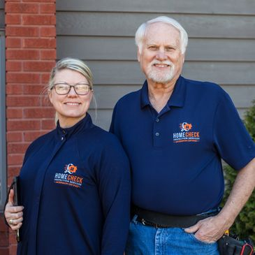 Father/daughter home inspectors Michael Ray and Jennifer Mrozek