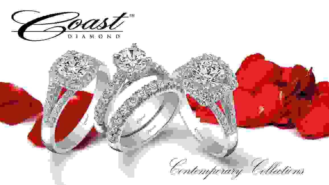 coast diamond engagement rings bridal contemporary collection