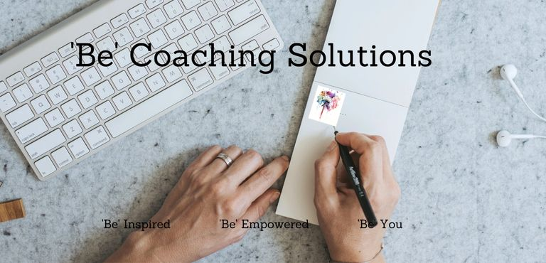 Logo and brand for Be Coaching Solutions