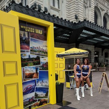 Western Union Mobile Marketing Tour with Denver Nuggets at Union Station