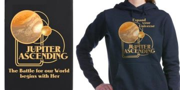Jupiter Ascending Movie fan designs t-shirts and products
