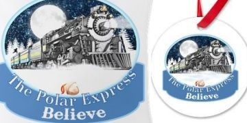 The Polar Express shirts cases bedding pillows