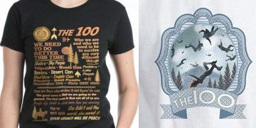 The 100 TV show shirts and products