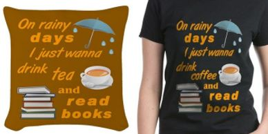 Book readers shirts and products