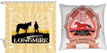 Longmire t-shirts and products