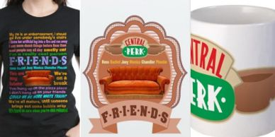 Friends TV shirts phone cases products