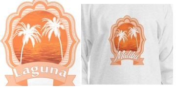 California beach shirts