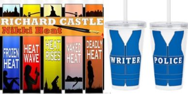 Richard Castle TV show shirts and products