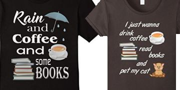 Novelty Tees for Book Readers at Amazon