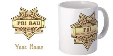 FBI BAU shirts and products