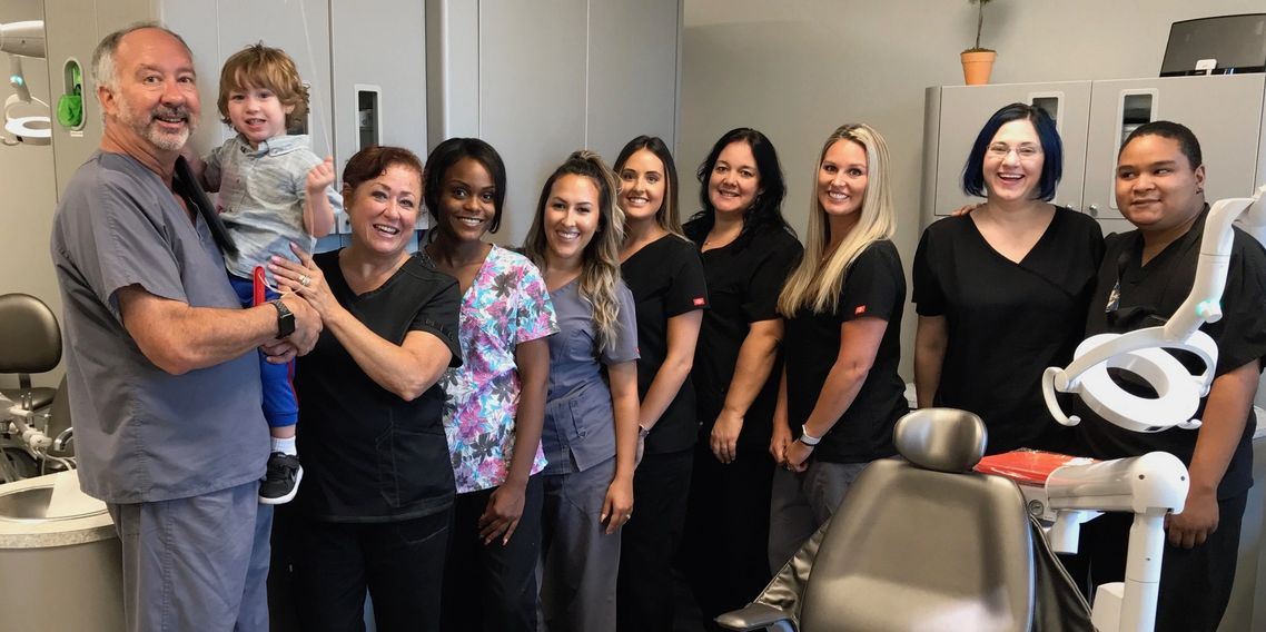 dental office team ODonnell dental care