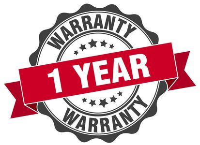 New Parts are used so Reliable offers a one year warranty on every repair. We stand by our work.
