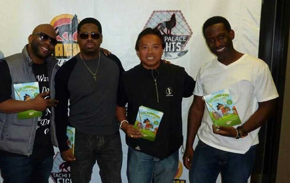 Boyz II Men -  They play a lot of celebrity golf.  Thanks for the support of my book.