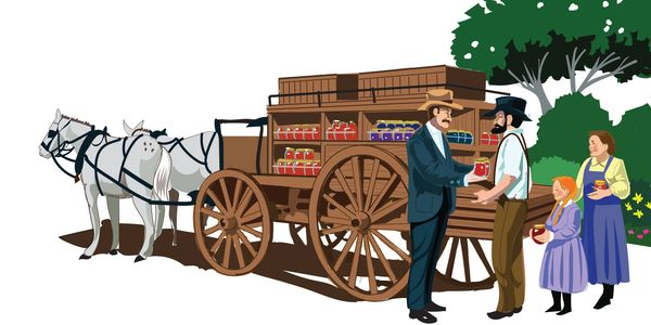 Do you know who used Johnny Appleseed's apples to become one of the biggest jam and jelly makers?