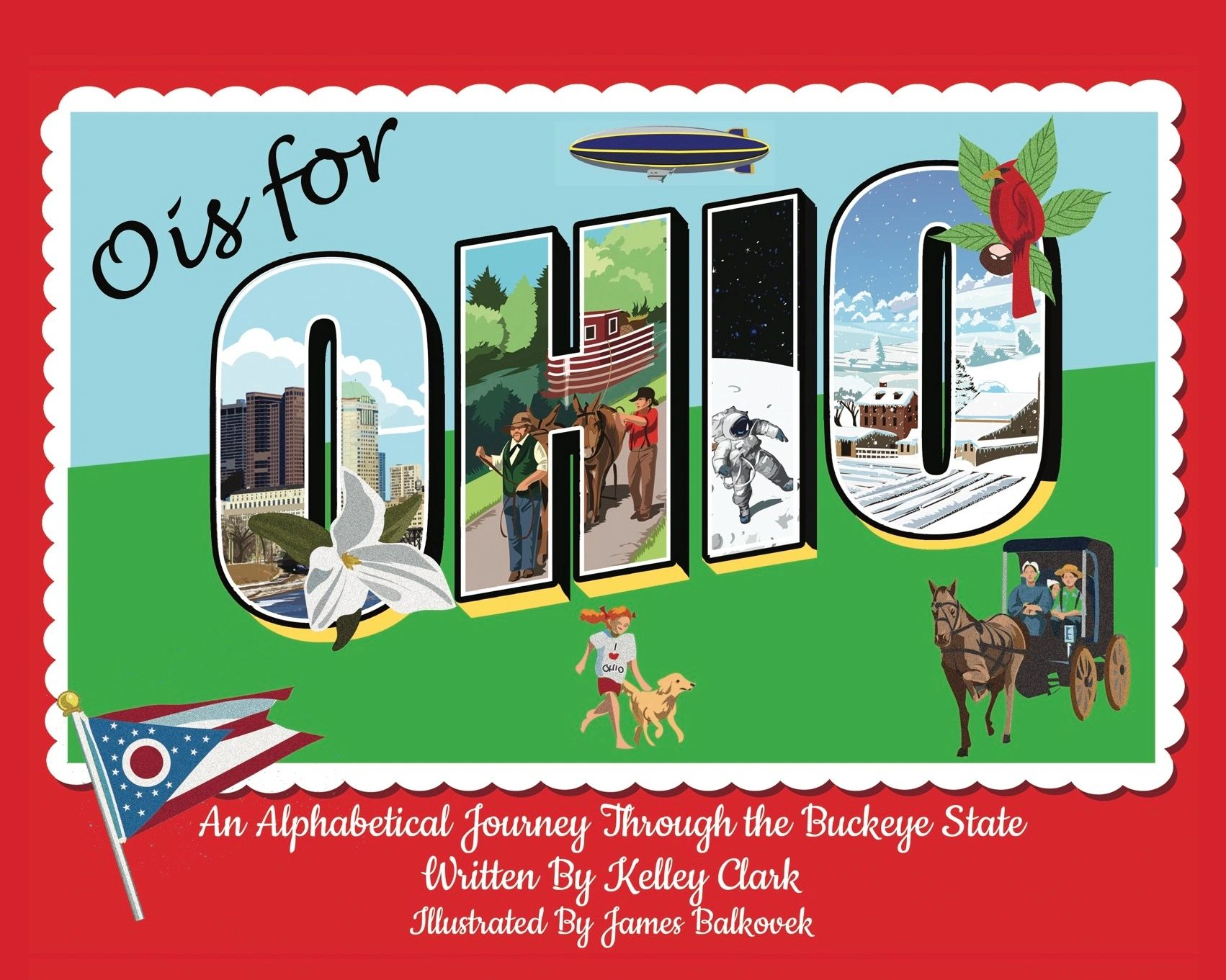 A children's book that packed with stories for kids about the amazing Buckeye State.
