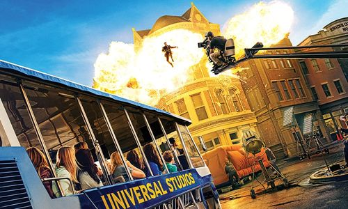 "Universal Studios Hollywood is ""The Entertainment Capital of L.A."" and the only movie and television"