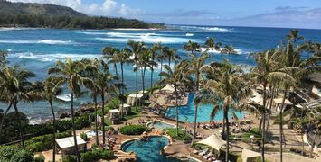 Turtle Bay Hotel and Resort Pool View