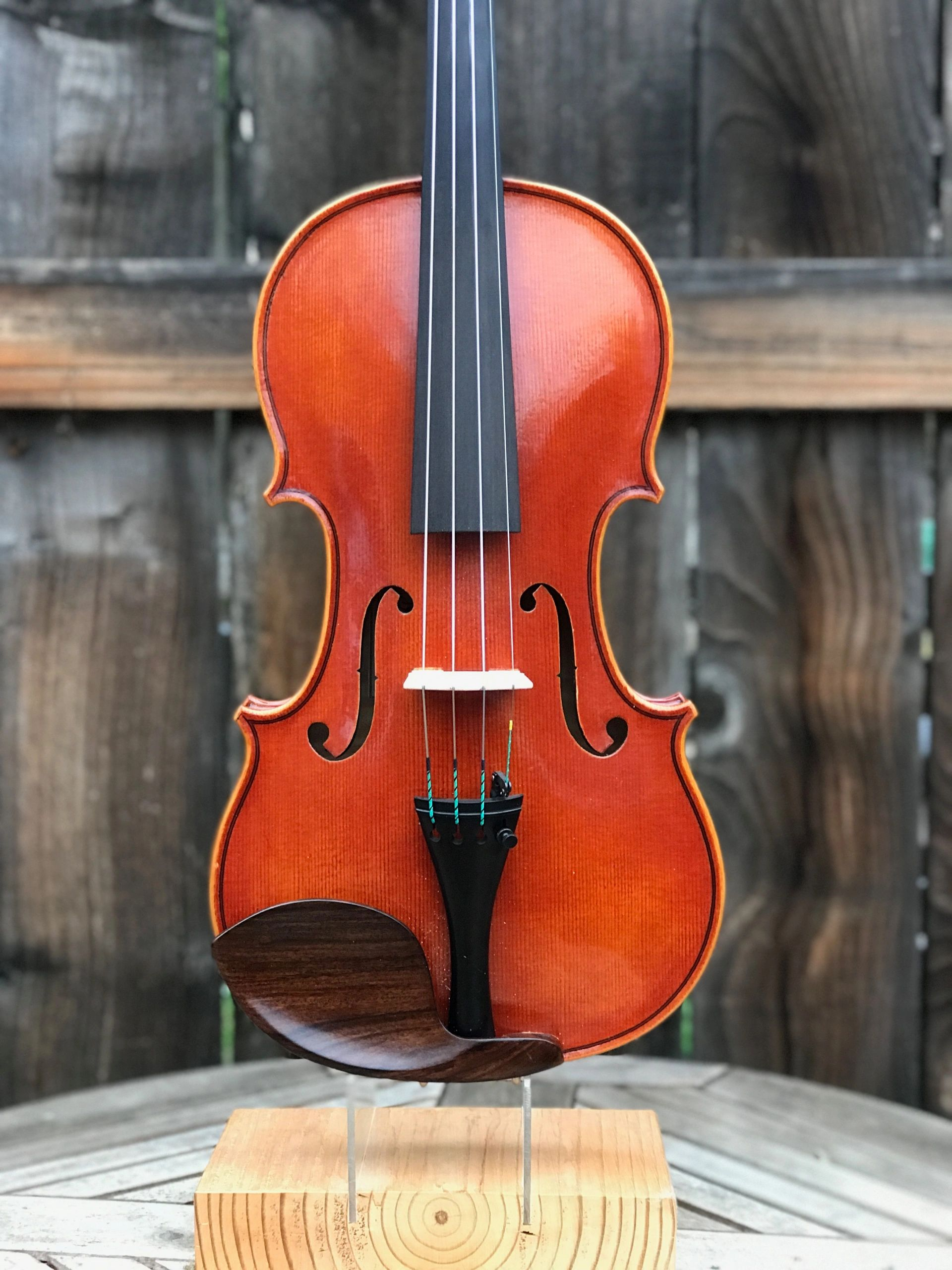 Latest Violin by John Hill was completed in early 2019.