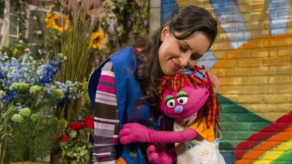 Richard Termine / Sesame Workshop: Lily (right) with Sofia