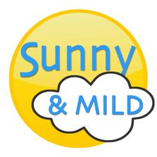 logo, sun, cloud,