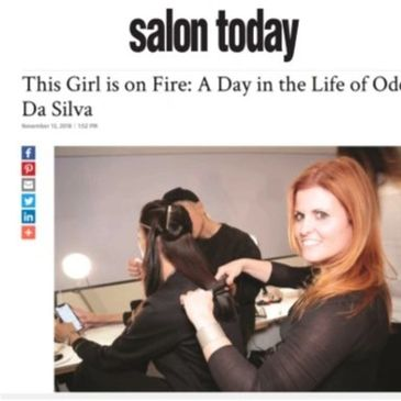 Odete shares experience as USA Gold Winner of Colorzoom, Fashion Week Runway Stylist and top tips.