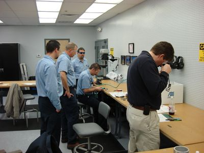 Flap Peening - Practical Training - Aircraft Structures Repairs ON SITE.. TIME and MONEY....