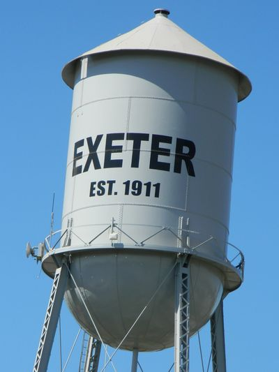 Exeter City Water Tower