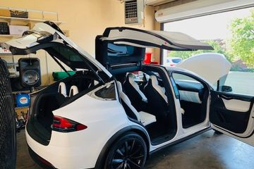 Tesla Model x at Auto Glam