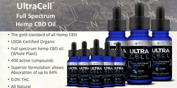 Zilis UltraCell and 7 Hemp Cbd Oil - Southern Life