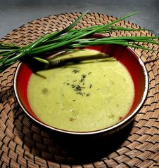 Cream of Chive Soup.