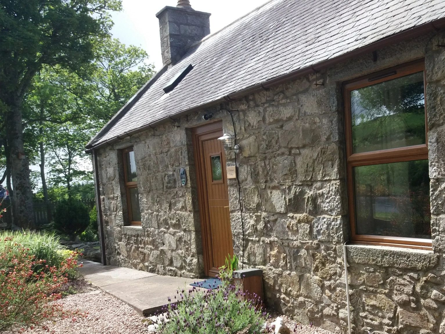 A traditional farm cottage renovated to a high standard with a contemporary, luxurious finish.