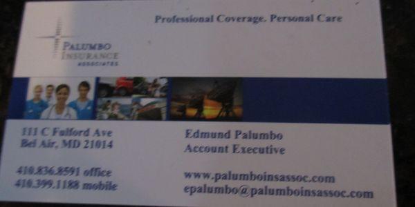 Palumbo Insurance covers  landscaping  White Marsh Storage , home owners & car insurances.  Call