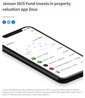 Jenson SEIS fund invests in The ZEUS App