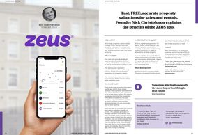 The ZEUS App features at the Landlord Investment Show