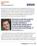 The ZEUS App features in The Negotiator