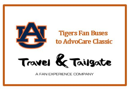 Auburn Tigers Fan Bus to AdvoCare Classic @ AT&T Stadium.  Round-trip transportation.