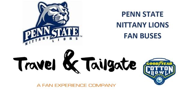 PENN STATE TAILGATE; cotton bowl tailgate