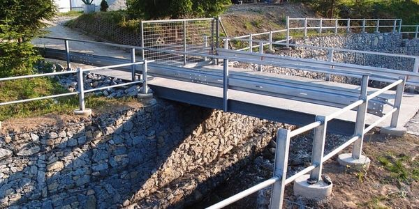 Gabion Bridge Protection