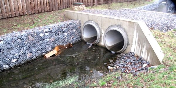 Gabion Culvert Protection