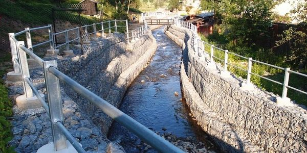 Gabion River Training