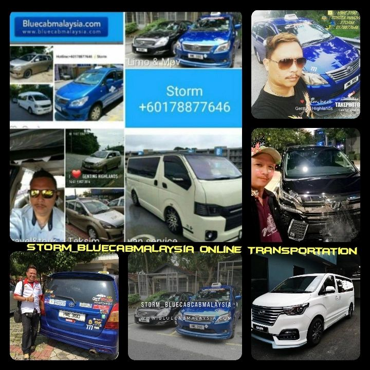 Bluecab malaysia online +60178877646 Transportation service.