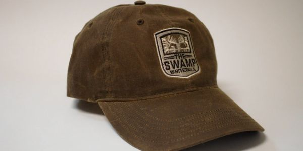 The Swamp Whitetails Signature Logo Wax Cotton Hat