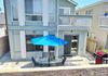Your Home by the Sea!  30 seconds from the beach and dolphins!  Large patio and gas barbecue!