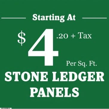 Americas Stone Company - Ledger Panels- Stacked Stone - Houston Stone Suppliers